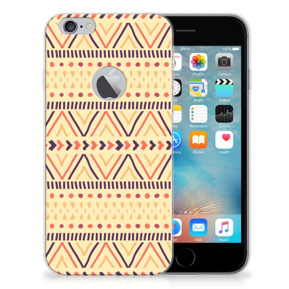 Apple iPhone 6 Plus | 6s Plus TPU bumper Aztec Yellow