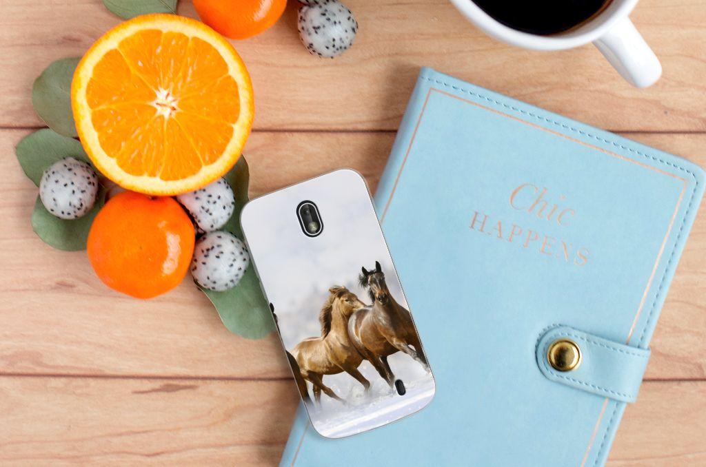 Nokia 1 TPU Hoesje Paarden