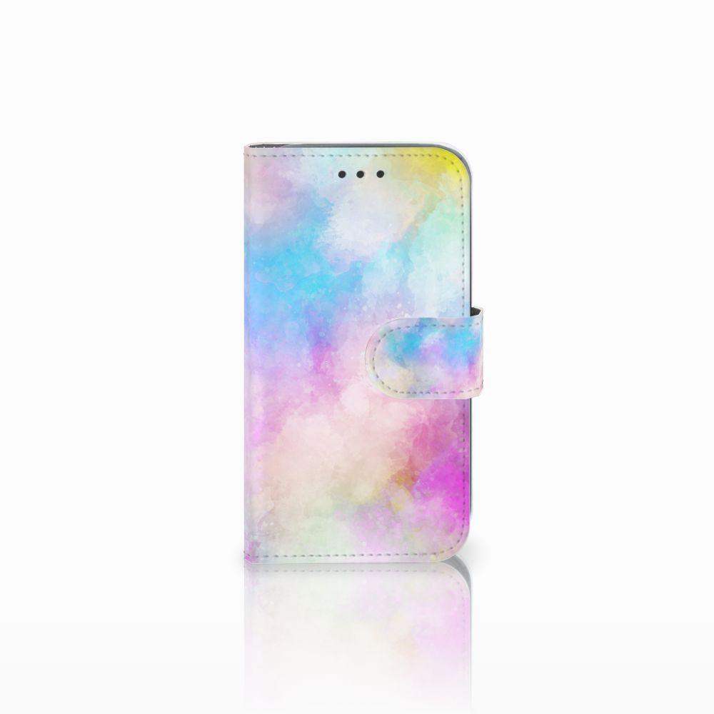 Samsung Galaxy Core Prime Uniek Boekhoesje Watercolor Light