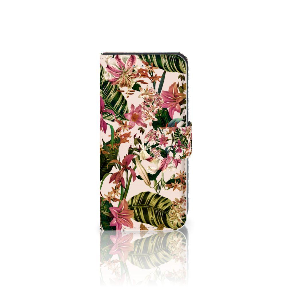 Samsung Galaxy S6 Edge Uniek Boekhoesje Flowers