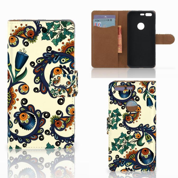 Wallet Case Google Pixel Barok Flower