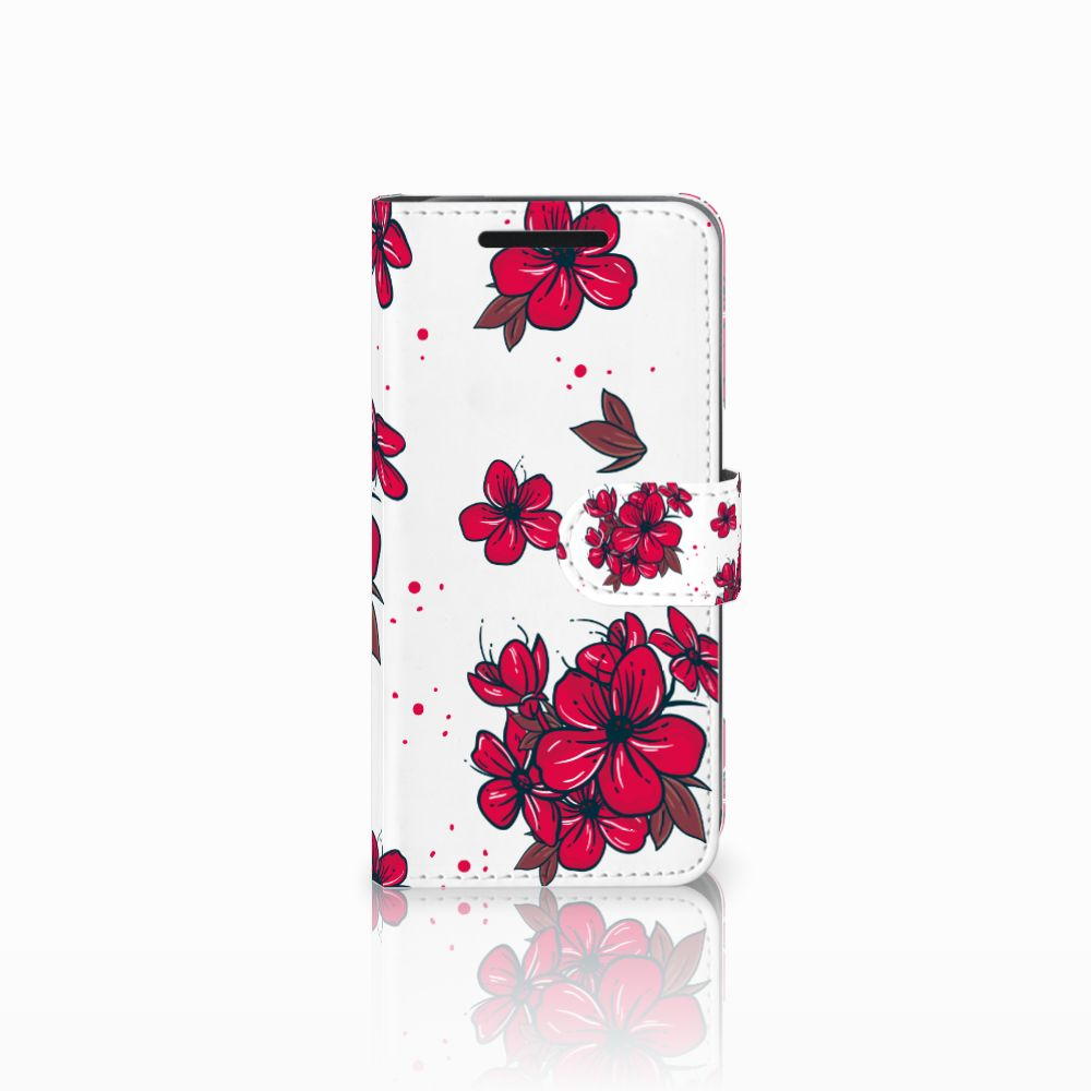 HTC One M9 Hoesje Blossom Red