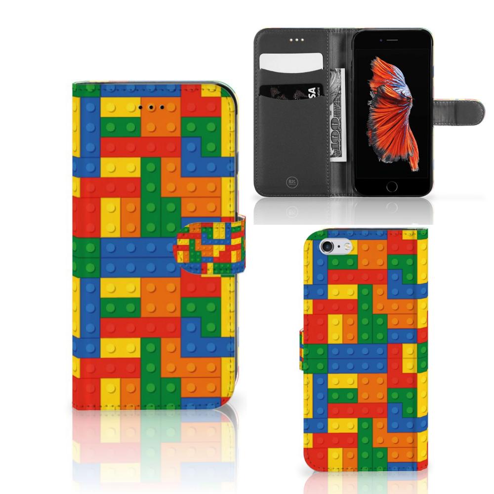 Apple iPhone 6 Plus | 6s Plus Telefoon Hoesje Blokken