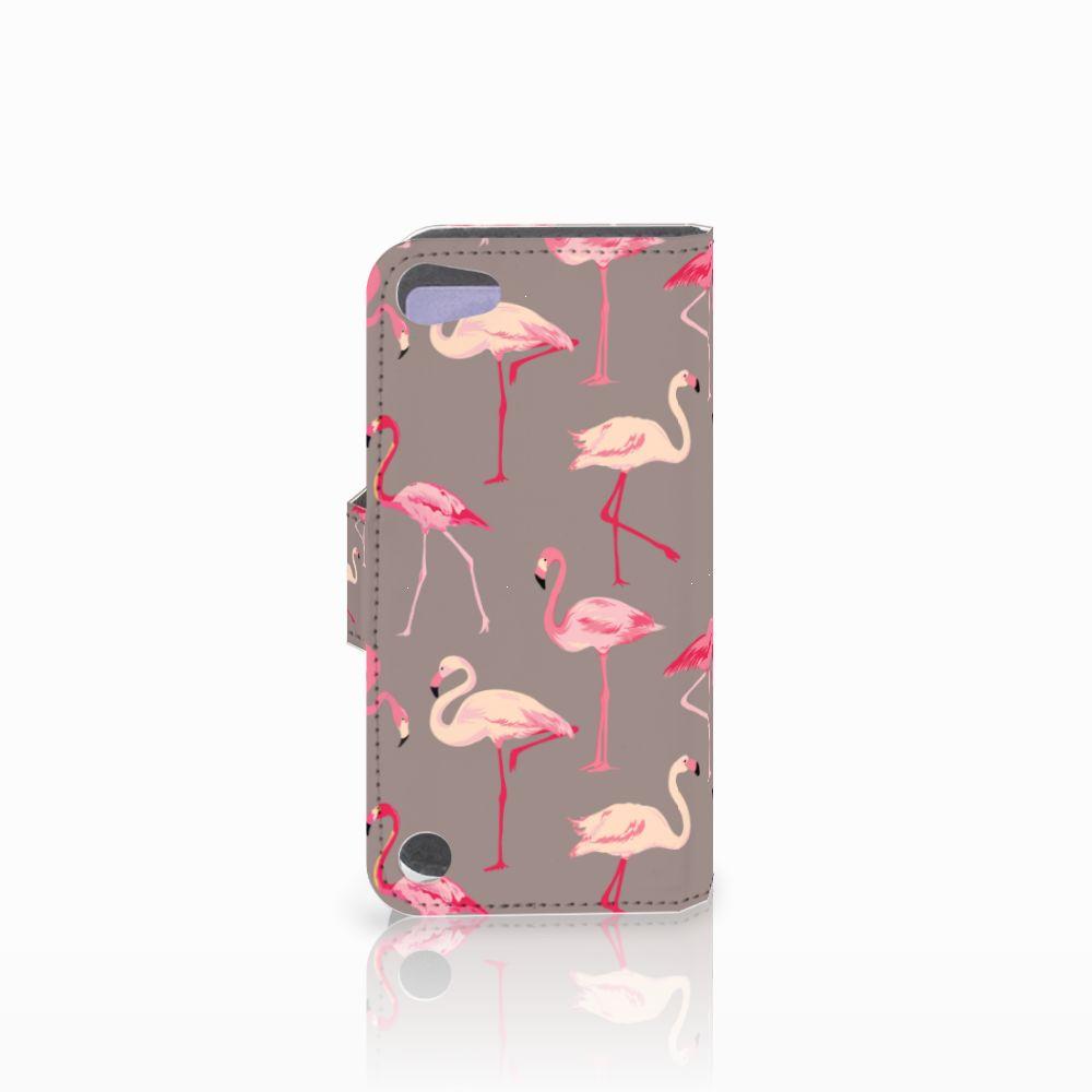 Apple iPod Touch 5 | 6 | iPod (2019) Telefoonhoesje met Pasjes Flamingo