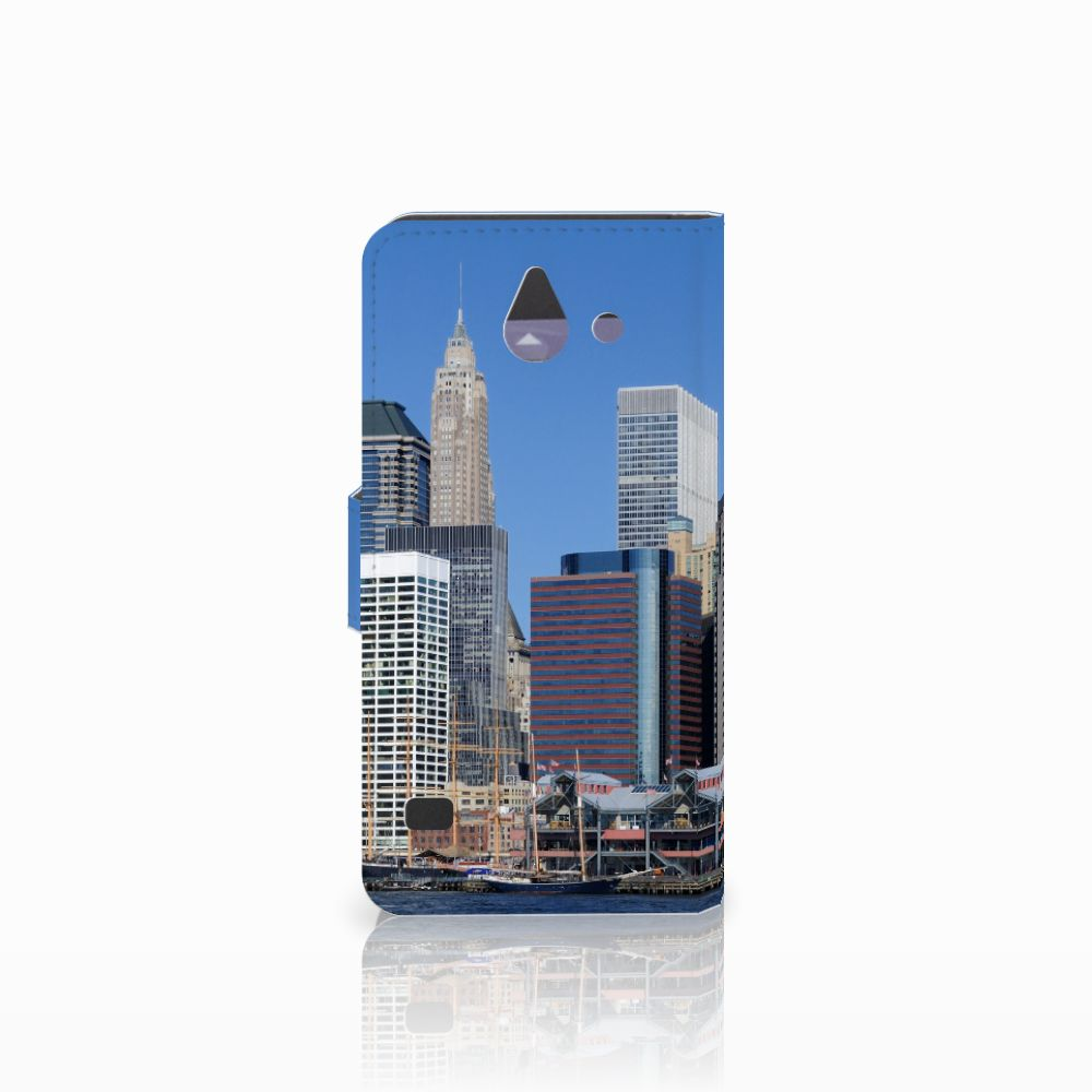 Huawei Ascend Y550 Flip Cover Vrijheidsbeeld