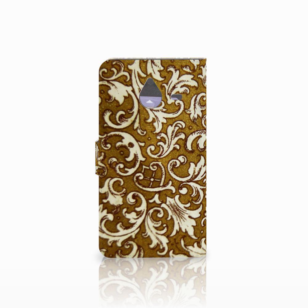 Wallet Case Microsoft Lumia 640 XL Barok Goud