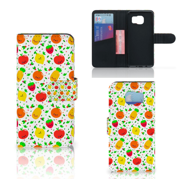 Samsung Galaxy S6 | S6 Duos Book Cover Fruits