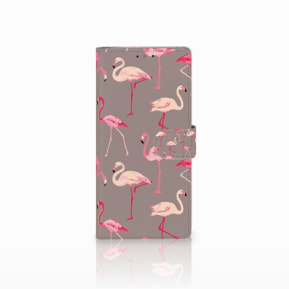 HTC U Ultra Uniek Boekhoesje Flamingo