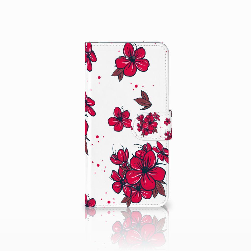LG Nexus 5X Boekhoesje Design Blossom Red