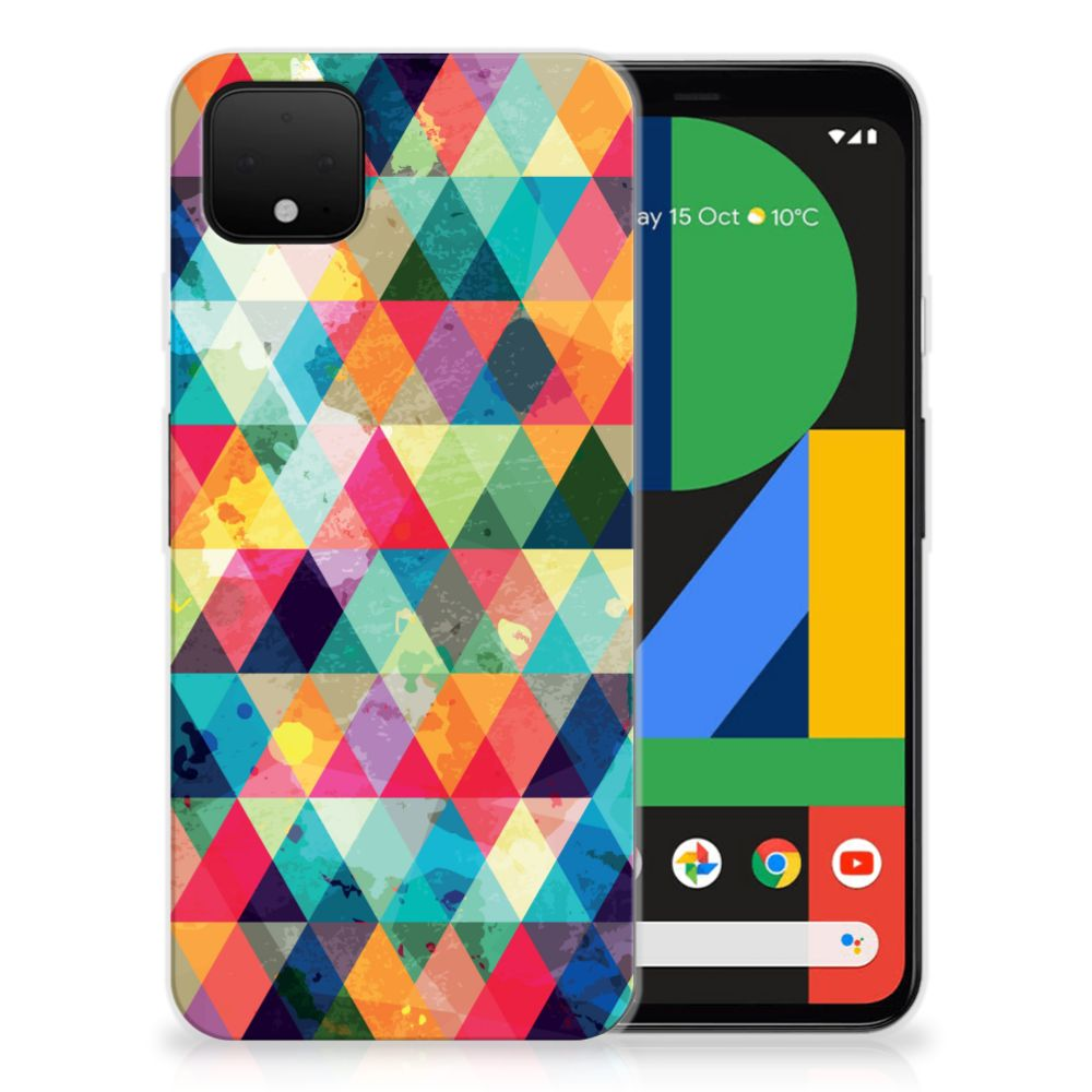 Google Pixel 4 XL TPU bumper Geruit