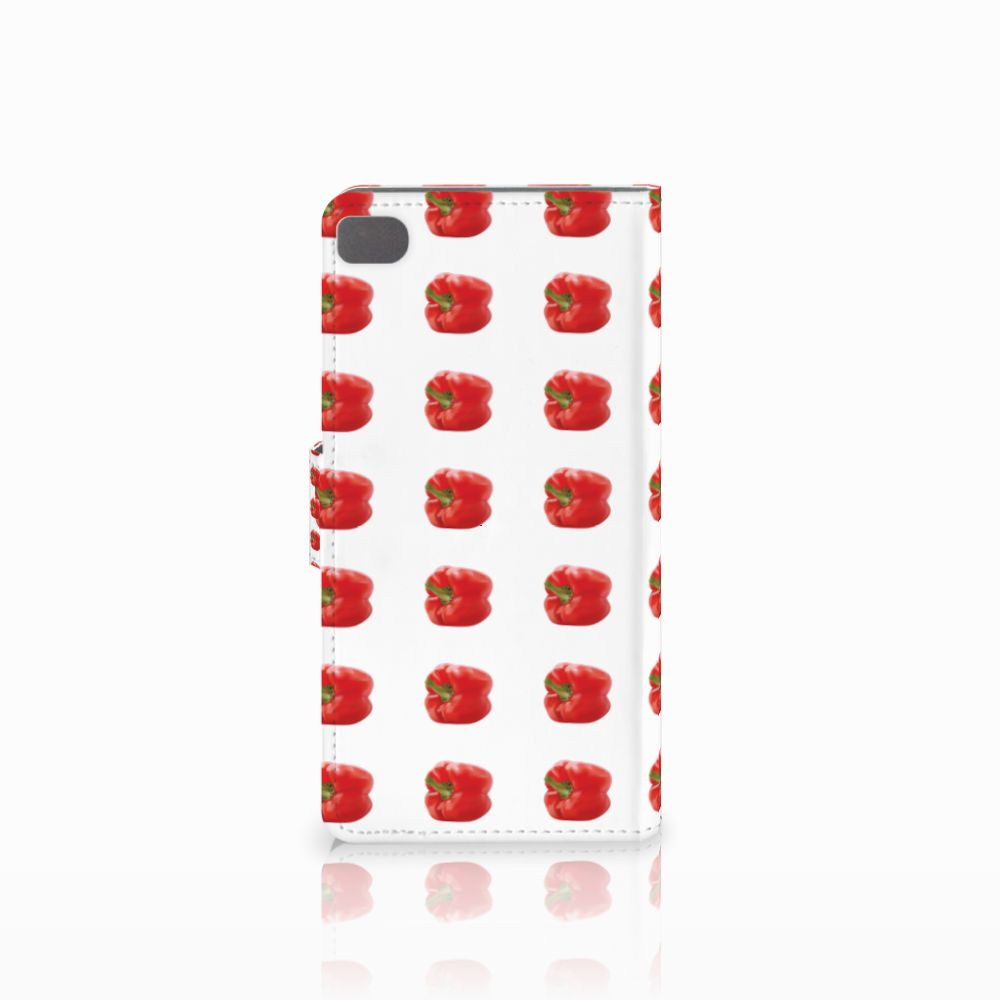 Huawei P8 Book Cover Paprika Red