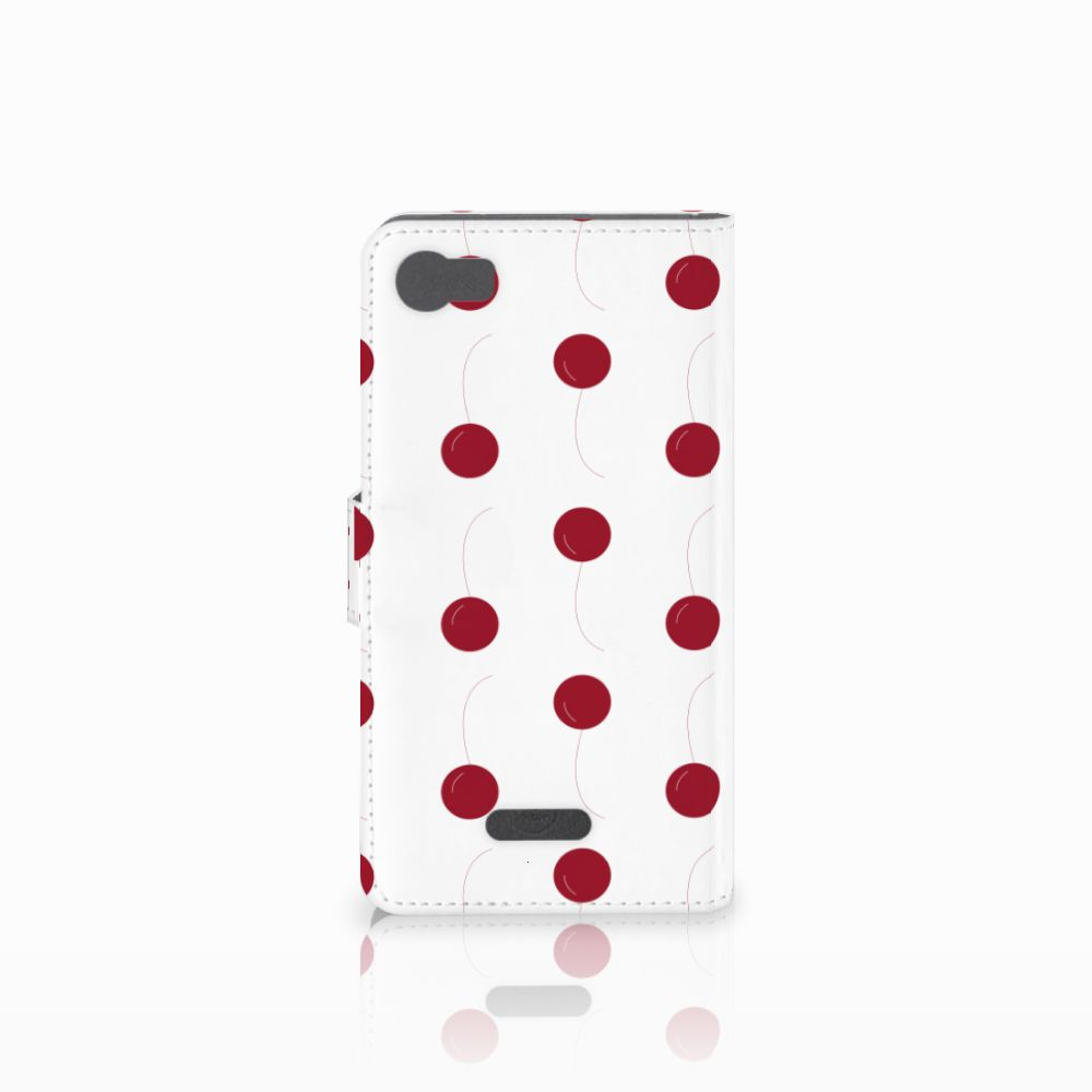 Wiko Fever (4G) Book Cover Cherries