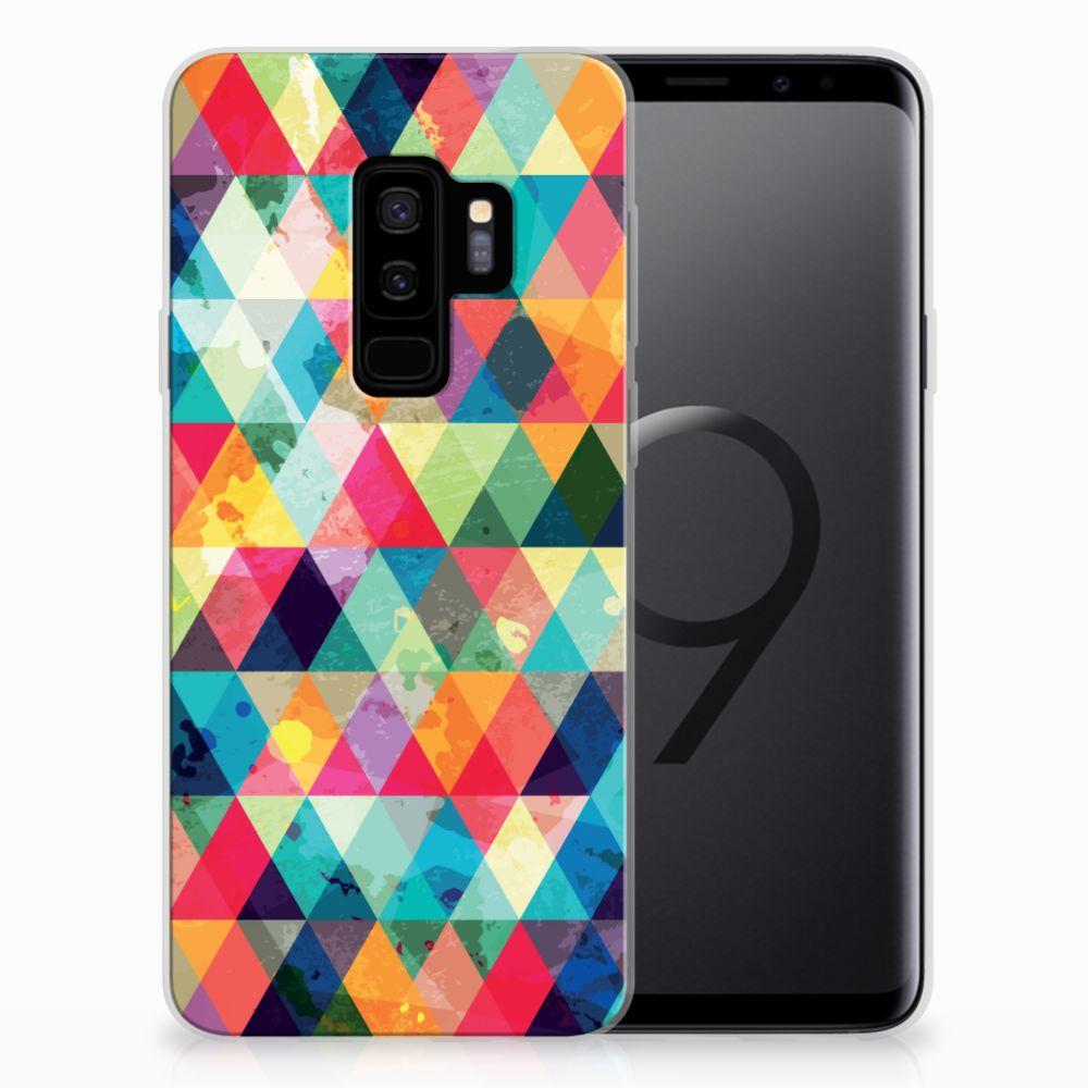 Samsung Galaxy S9 Plus TPU bumper Geruit