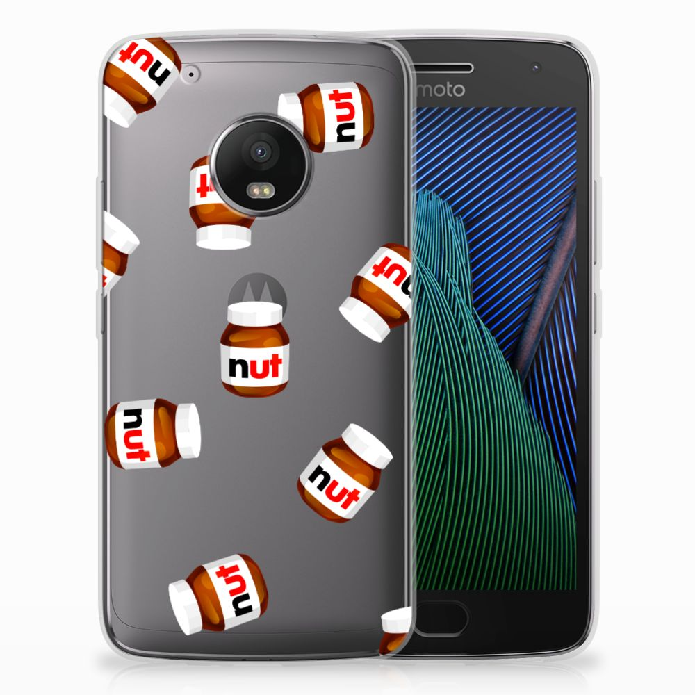 Motorola Moto G5 Plus Siliconen Case Nut Jar