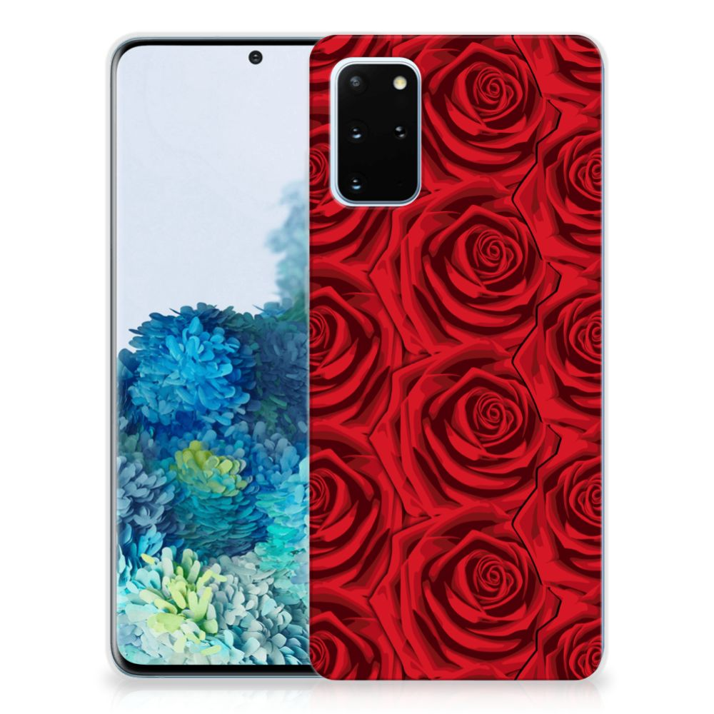 Samsung Galaxy S20 Plus TPU Case Red Roses