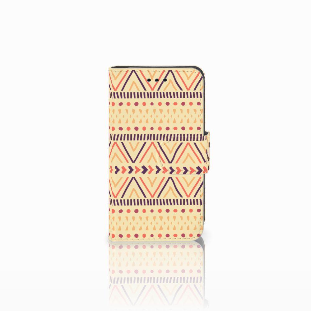 Samsung Galaxy Trend 2 Uniek Boekhoesje Aztec Yellow