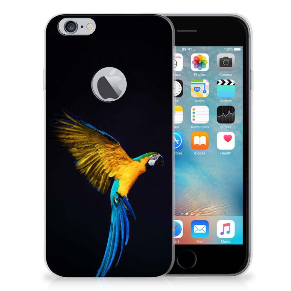 Apple iPhone 6 Plus | 6s Plus TPU Hoesje Papegaai