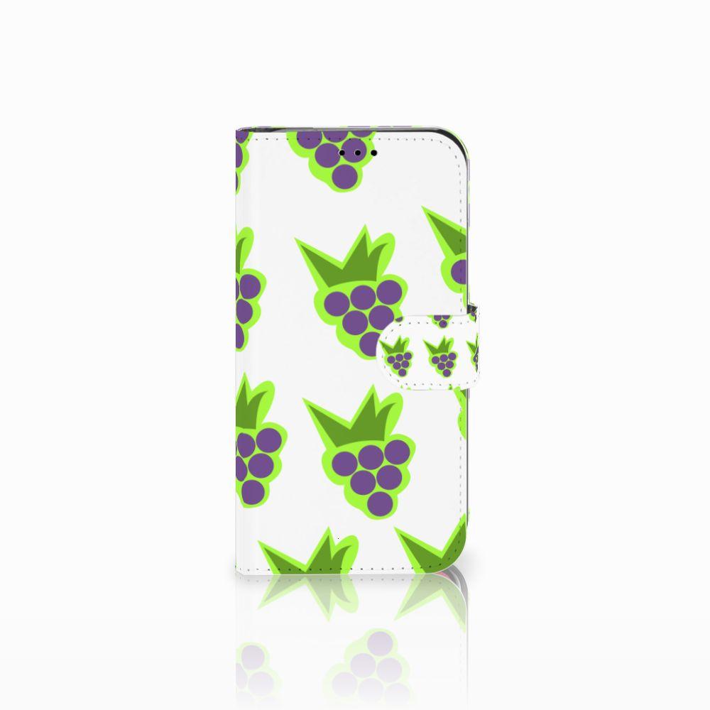 Apple iPhone Xr Uniek Boekhoesje Druiven