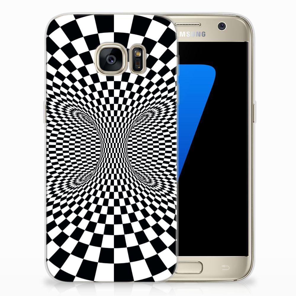 Samsung Galaxy S7 TPU Hoesje Illusie