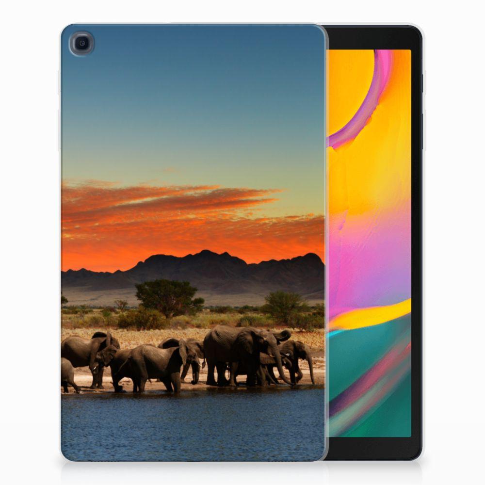 Samsung Galaxy Tab A 10.1 (2019) Back Case Olifanten