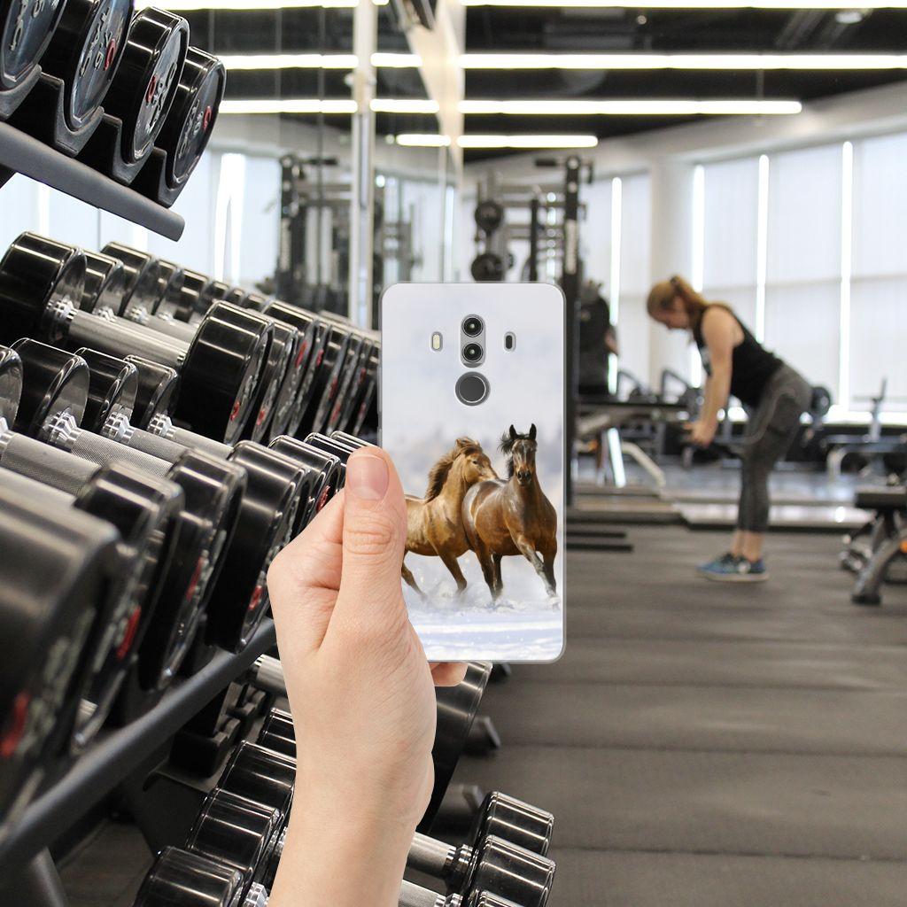 Huawei Mate 10 Pro TPU Hoesje Paarden