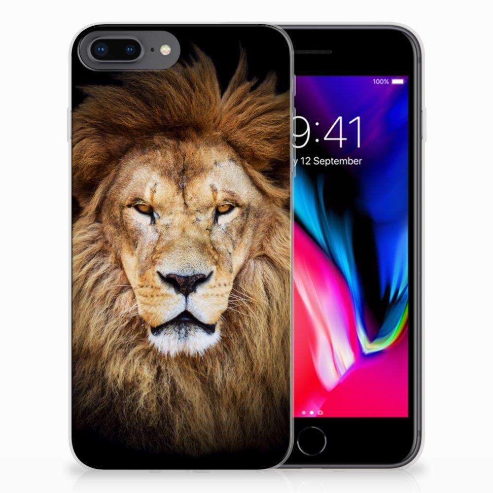 Apple iPhone 7 Plus | 8 Plus TPU Hoesje Leeuw