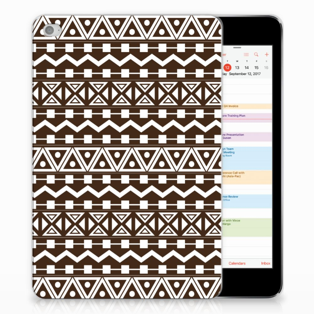 Apple iPad Mini 4 | Mini 5 (2019) Hippe Hoes Aztec Brown