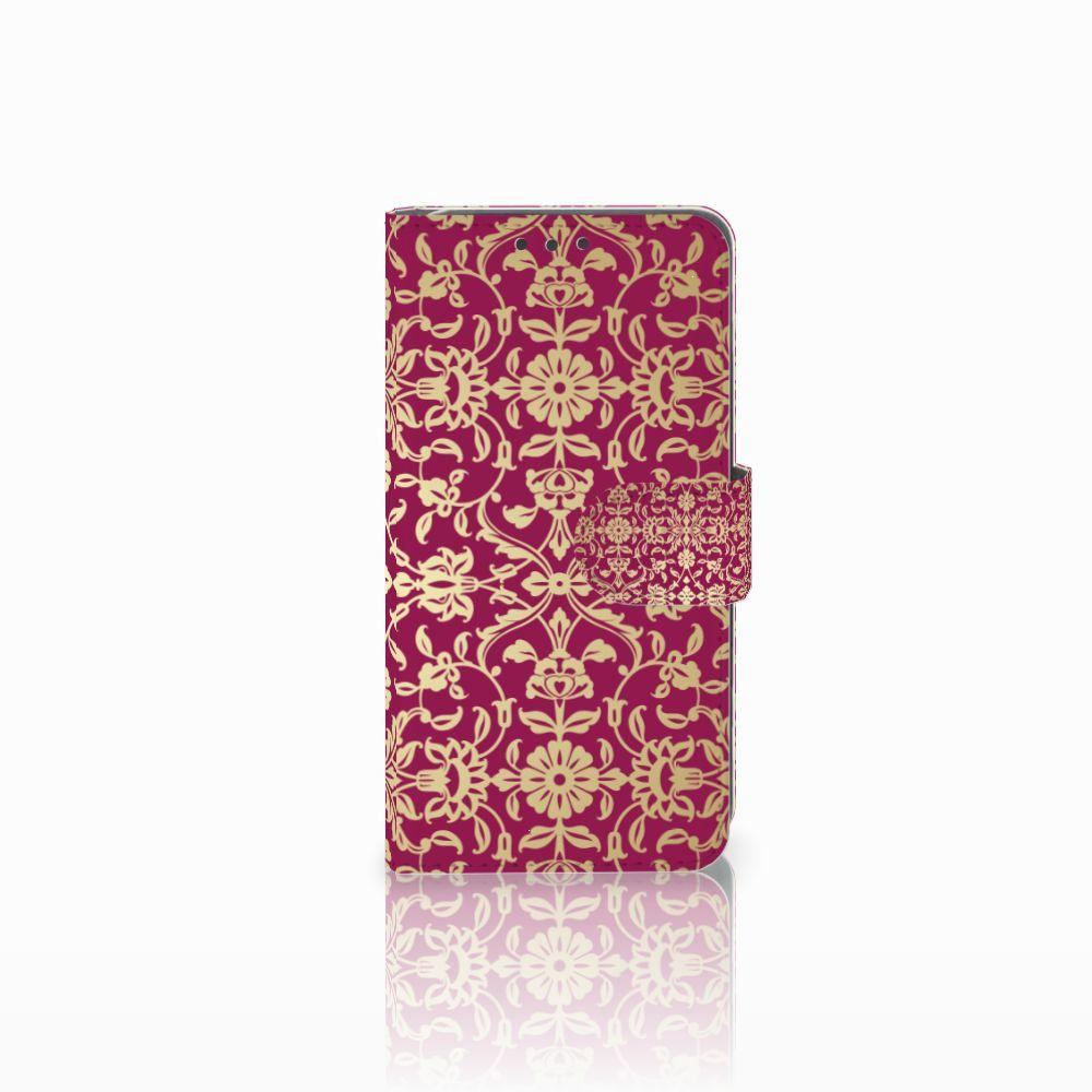 Huawei Y5 2 | Y6 II Compact Boekhoesje Design Barok Pink