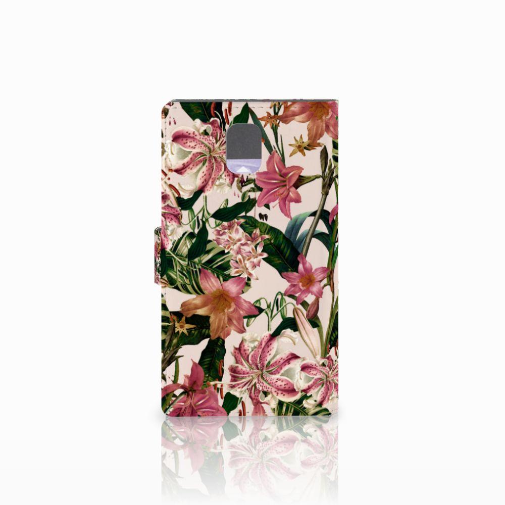 Samsung Galaxy Note 3 Hoesje Flowers