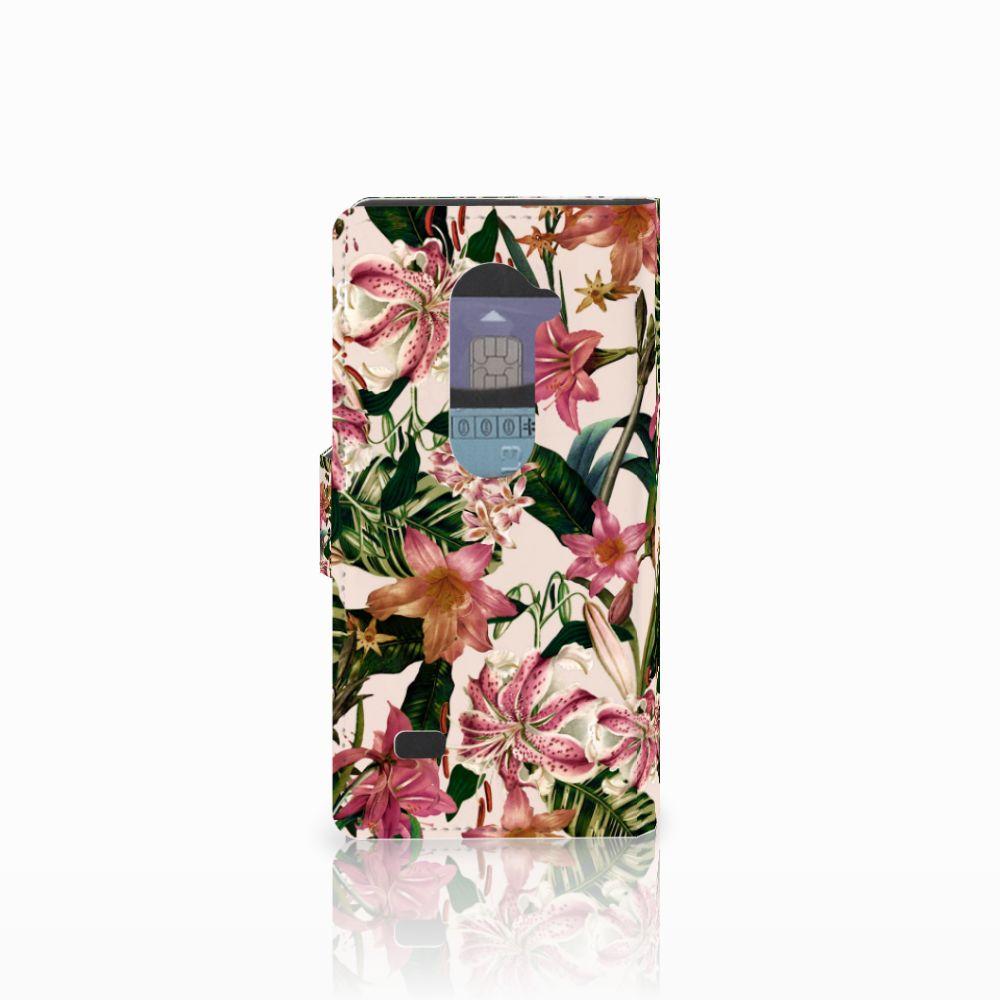LG Leon 4G Hoesje Flowers