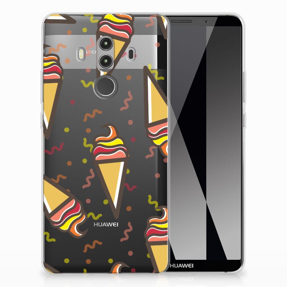 Huawei Mate 10 Pro Siliconen Case Icecream