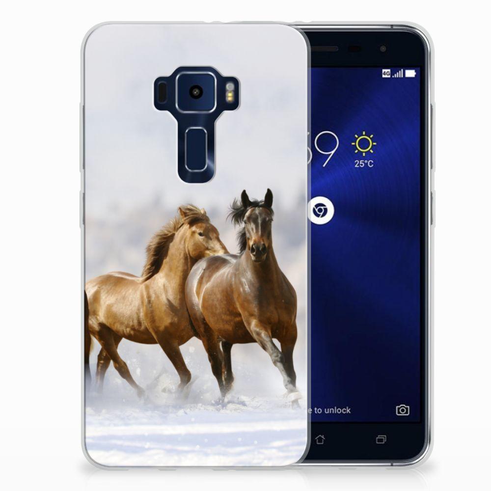 ASUS Zenfone 3 Uniek TPU Hoesje Paarden
