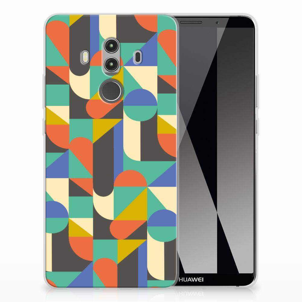 Huawei Mate 10 Pro Uniek TPU Hoesje Funky Retro