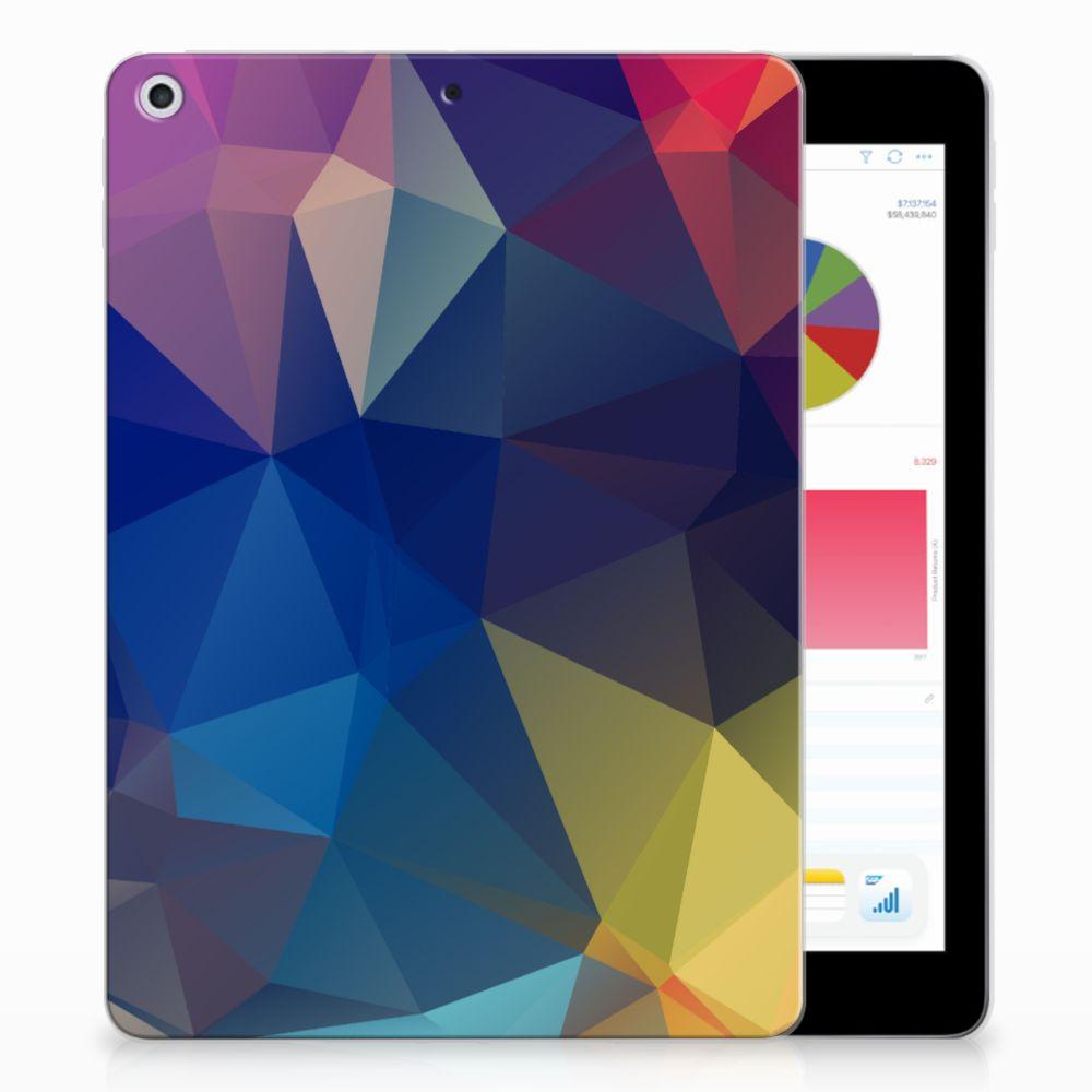 Apple iPad 9.7 2018 | 2017 Back Cover Polygon Dark