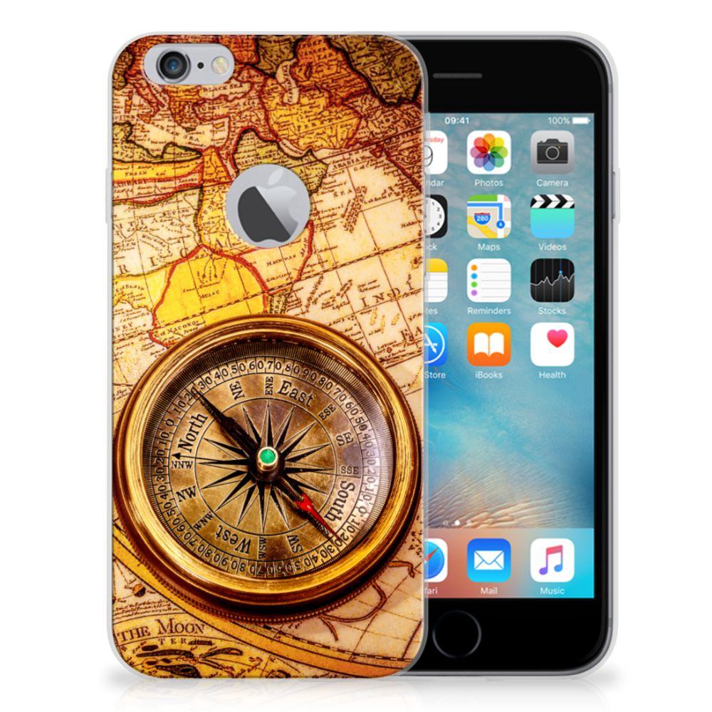 Apple iPhone 6 Plus | 6s Plus Siliconen Back Cover Kompas