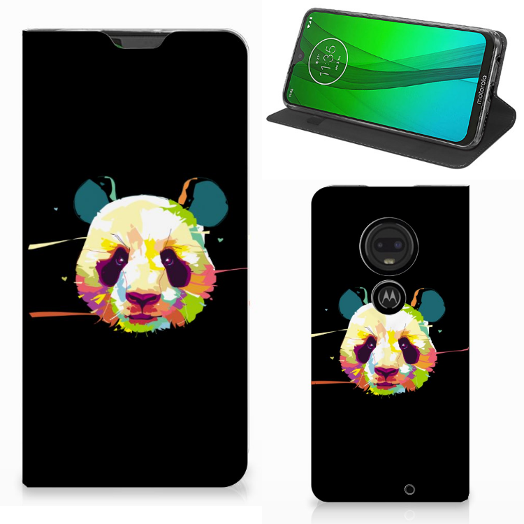 Motorola Moto G7 | G7 Plus Magnet Case Panda Color