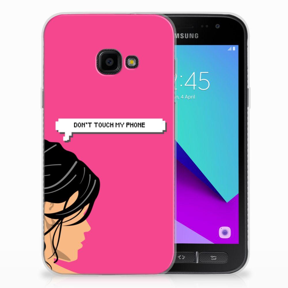 Samsung Galaxy Xcover 4 Uniek TPU Hoesje Woman DTMP