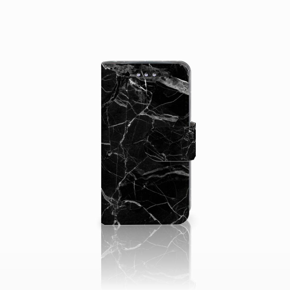 Samsung Galaxy S3 Mini Uniek Boekhoesje Marmer Zwart