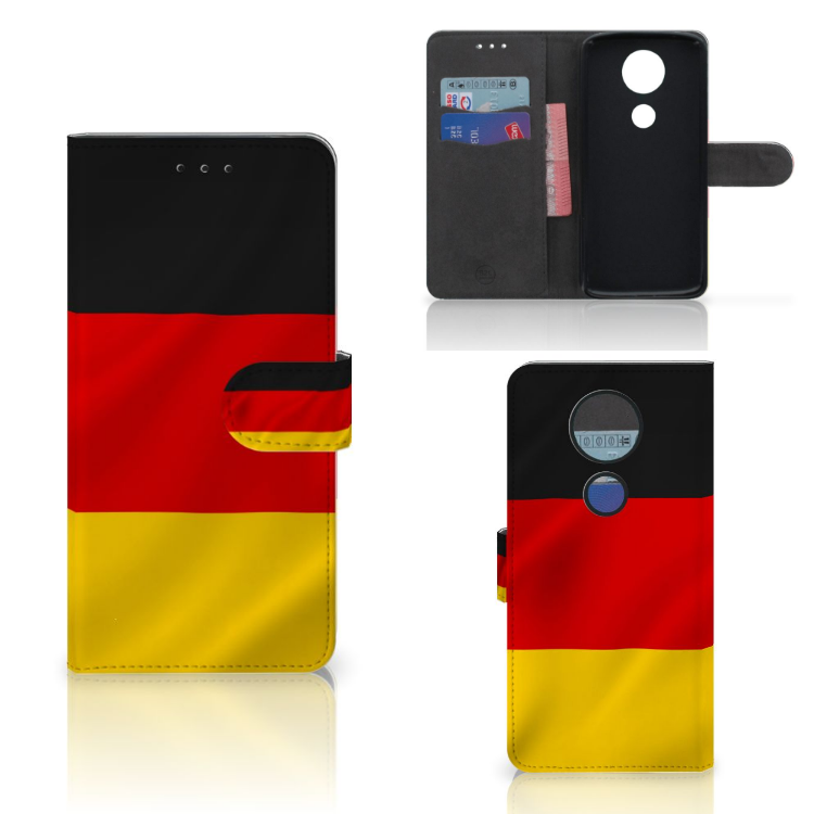 Motorola Moto E5 Plus Bookstyle Case Duitsland