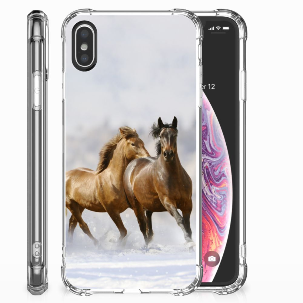 Apple iPhone X | Xs Case Anti-shock Paarden