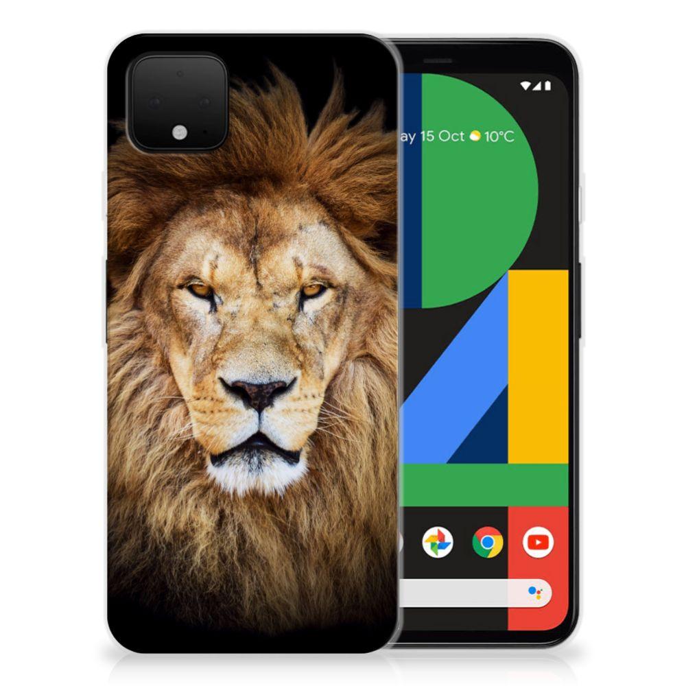 Google Pixel 4 XL TPU Hoesje Leeuw