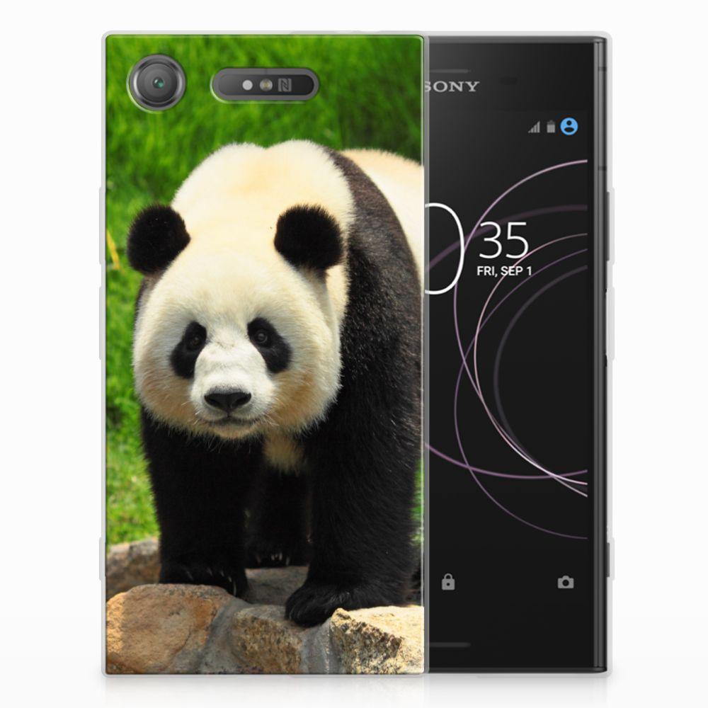 Sony Xperia XZ1 TPU Hoesje Panda