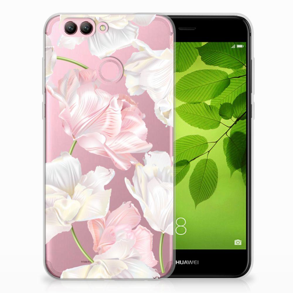 Huawei Nova 2 TPU Hoesje Design Lovely Flowers