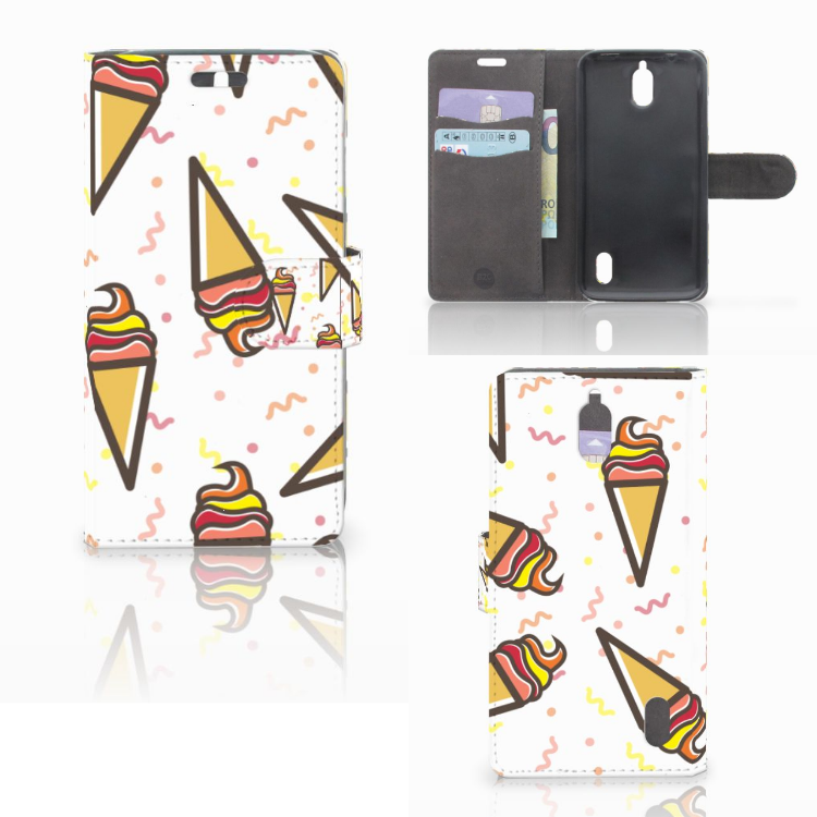 Huawei Y625 Book Cover Icecream
