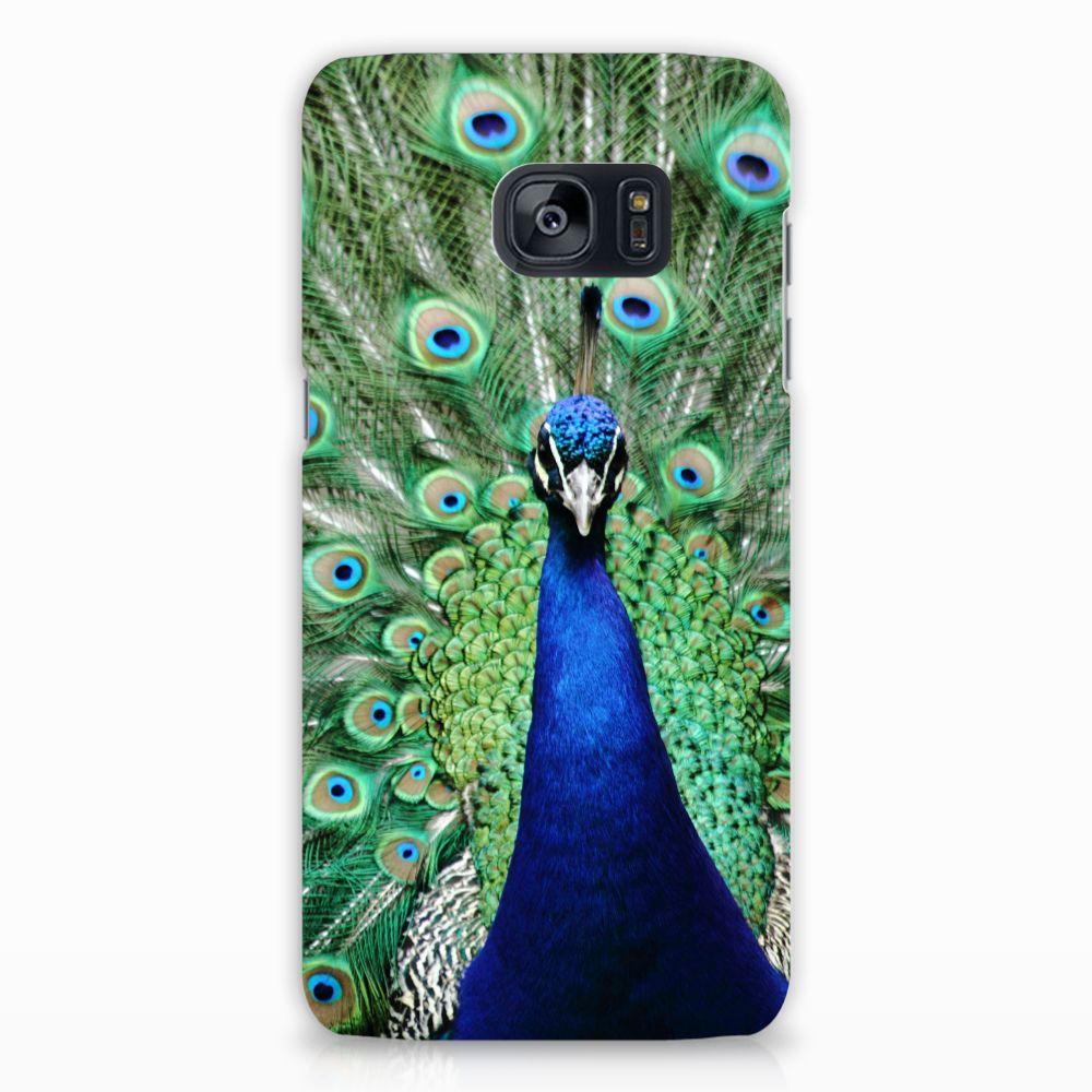 Samsung Galaxy S7 Edge Hardcase Hoesje Design Pauw