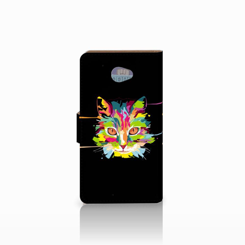 HTC Desire 601 Leuke Hoesje Cat Color