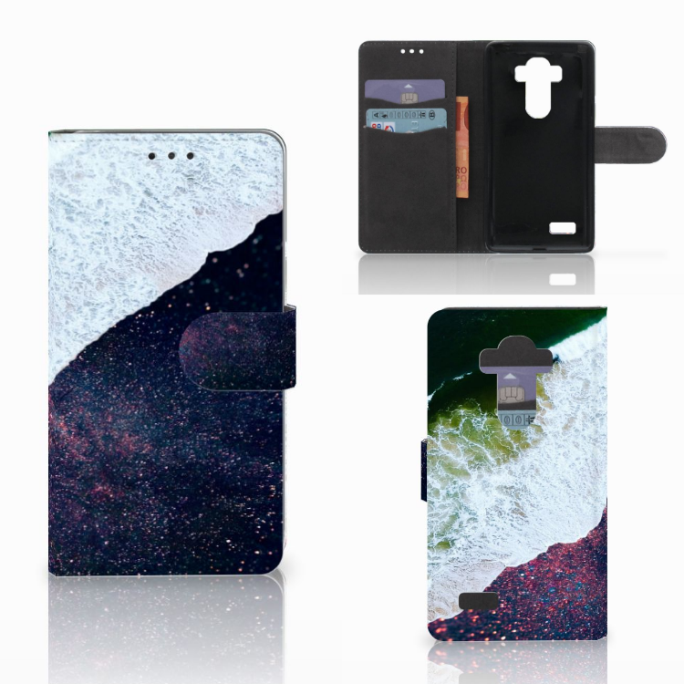 LG G4 Bookcase Sea in Space