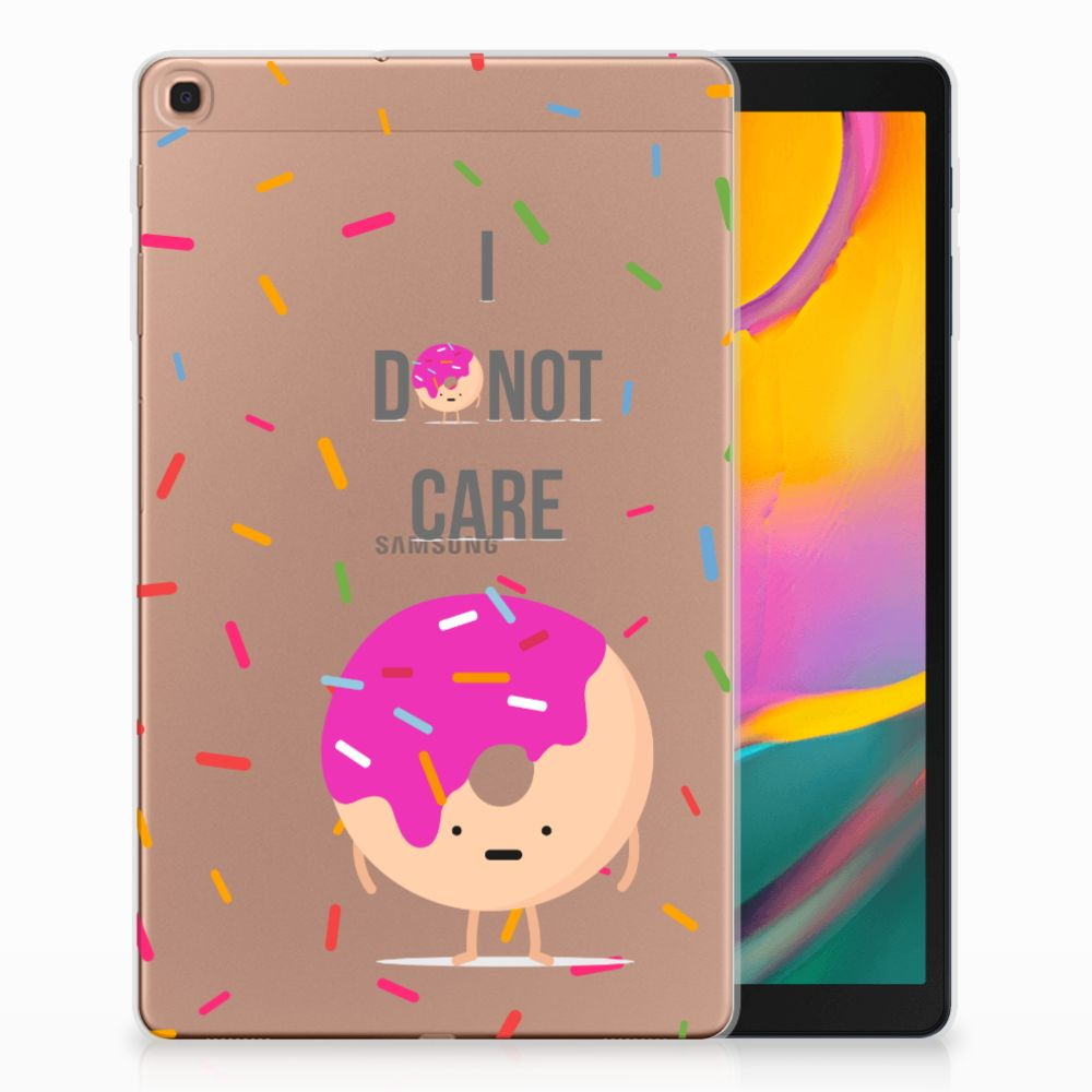 Samsung Galaxy Tab A 10.1 (2019) Tablet Cover Donut Roze