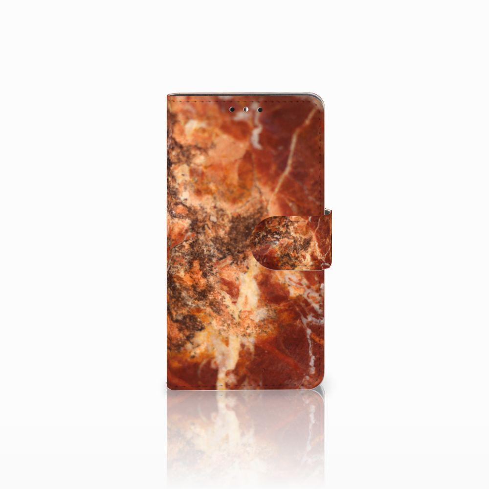 Huawei Y5 | Y6 2017 Boekhoesje Design Marmer Bruin