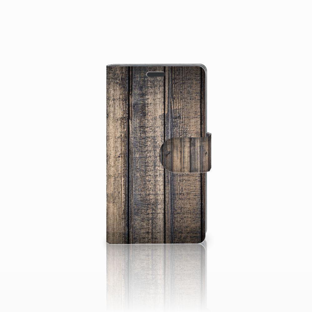Nokia Lumia 625 Boekhoesje Design Steigerhout